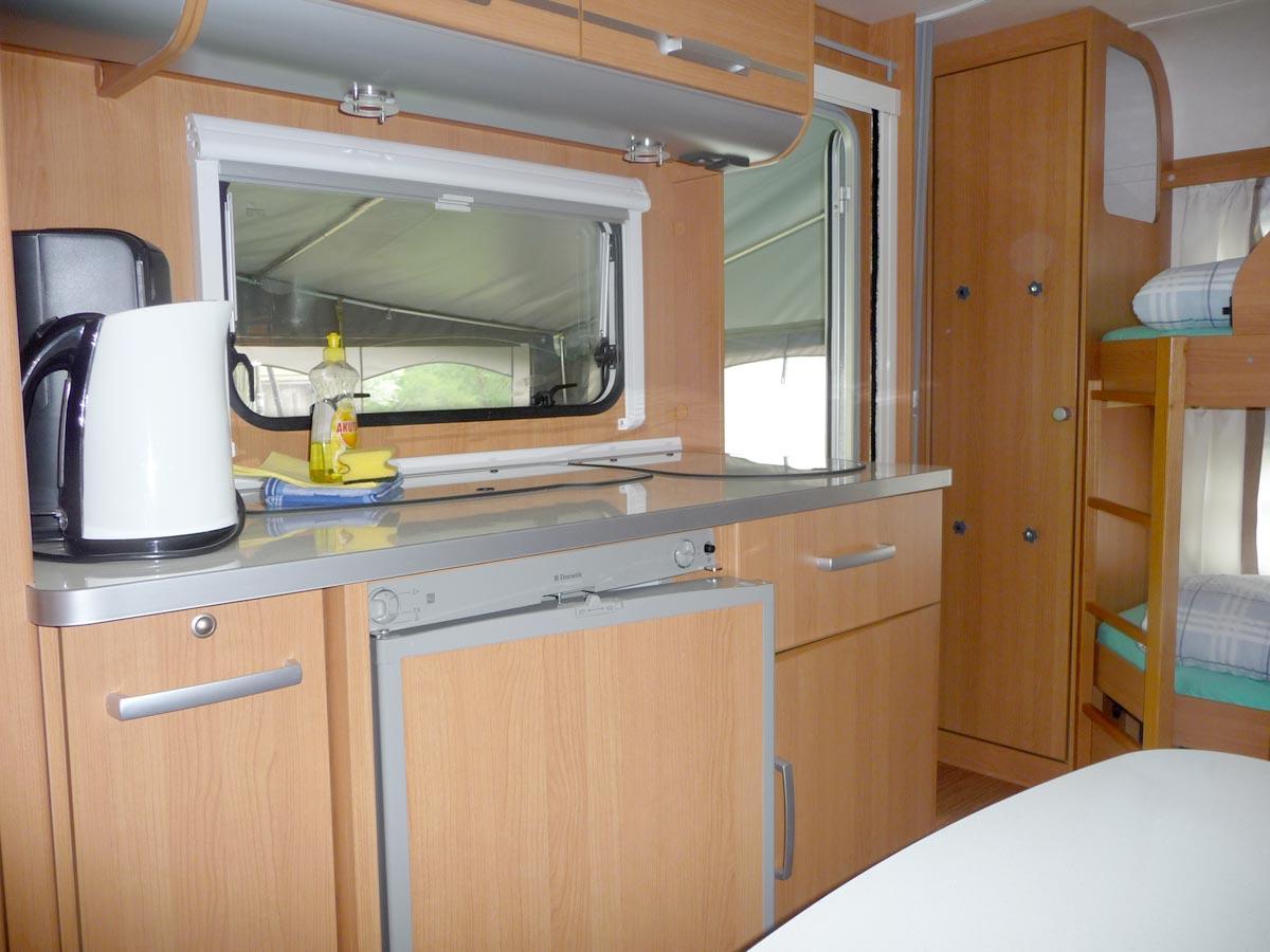 Küchenzeile Campingplatz Fein Klein Am Carwitzer See