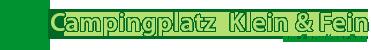 Campingplatz Fein & Klein am Carwitzer See
